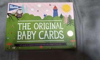 The orginal baby cards milestone