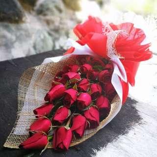 Ocean red rose identity_flower