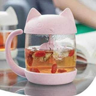 Miniso Cute Pink Cat Tea Cup