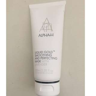 Alpha H Liquid Gold Smoothing and Perfecting Mask, 100ml