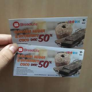 2 Voucher Breadlife