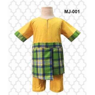 Baby Jumper Melayu Bersampin (6,12,18M)