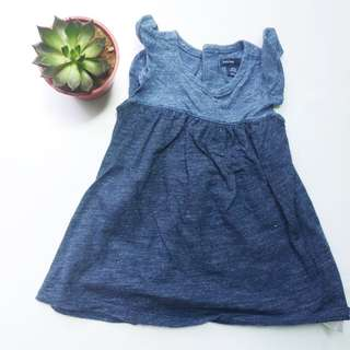 Gap Soft Denim Dress