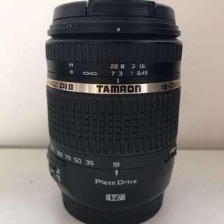 Tamron 18-270mm F/3.5-6.3 Di II VC PZD (canon mount)