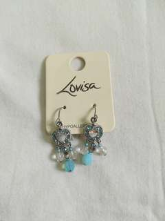 Blue Heart Earrings #20Under