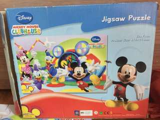 Mickey mouse clubhouse eva foam puzzle 35 pieces