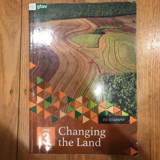 VCE Geography Unit 3 Textbook