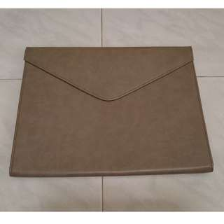 Faux Leather laptop cover