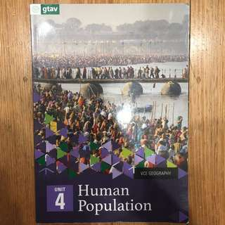 VCE Geography Unit 4 Textbook
