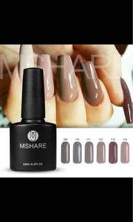 10 ml gel nail polish (P.O.)