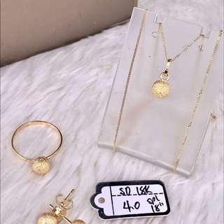 Saudu gold set