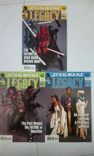 STAR WARS : LEGACY (2006) #1-3