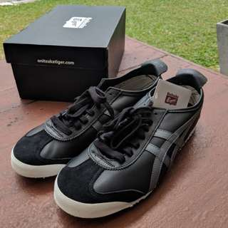 Brand New Onitsuka Tiger Mexico 66 Black US10