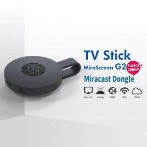 Mirascreen G2 Chromecast Wireless Wifi HDMI HD Video Media Streamer Phone to TV