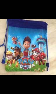 Paw patrol drawstring bag- goodies bag, goody bag gift