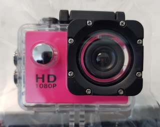 Full HD 1080p Sport Cam with waterproof housing