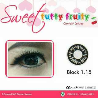 Tutty Fruity Black