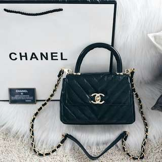 Chanel Coco Handle Flap