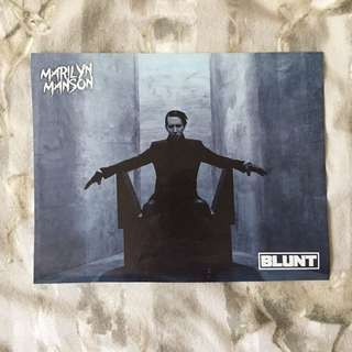 Marilyn Manson // Ozzy Osbourne Poster
