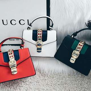 Gucci Sylvia Leather MIni Bag