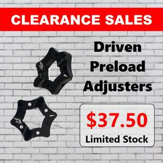 Driven Preload Adjusters Clearance