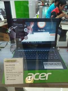 Cicil laptop Acer E5-475G i5 proses tanpa Kartu kredit