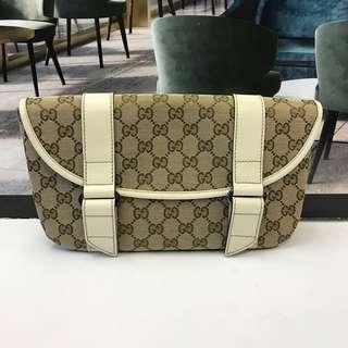 全新 Gucci Canvas Waist Bag