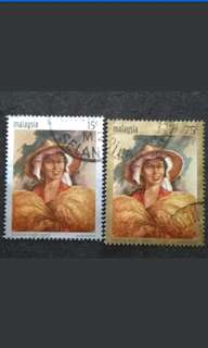 Malaysia 1969 National Rice Year Complete Set - 3v Used Stamps