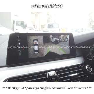 Original BMW Surround View Cameras
