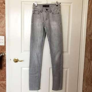 Zara Grey Denim Jeans