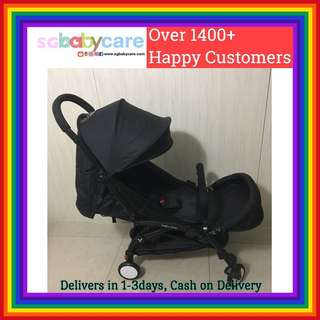 FREE DELIVERY Compact Travel Stroller - Black