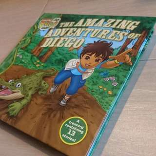 Go Diego Go The Amazing Adventures of Diego 13 Stories Book Nickelodeon