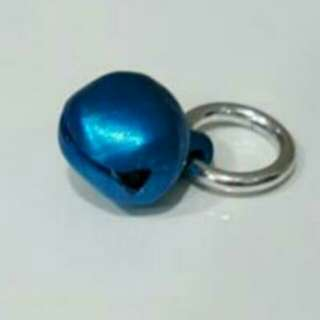 #Blessing📬Brand New Cute Mini Metallic Blue Bell With Ring