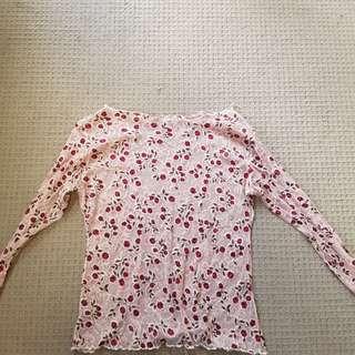 Rose mesh top