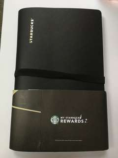 Starbucks name card holder