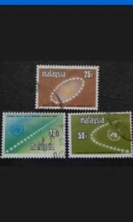 Malaysia 1970 25th Scout Jamboree Complete Set - 3v Used Stamps