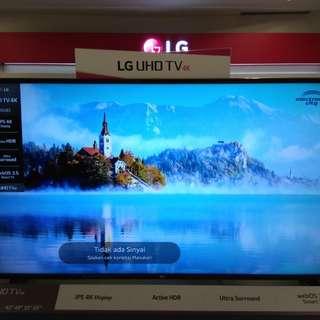 """LG SMART TV 55"""".Promo Cicilan tanpa kartu kredit proses 3 menit GRATIS 1X CICILAN"""