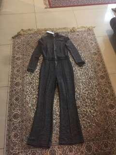 Jumpsuit grey bershka