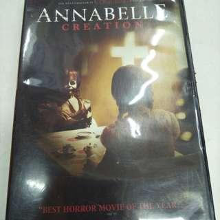 Annabelle creation movie DVD
