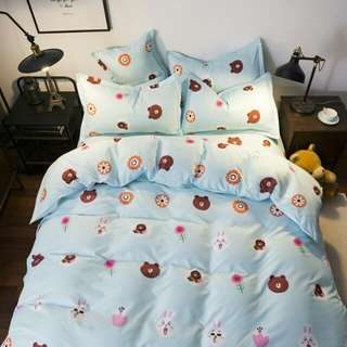 Cotton Bedding Set (Queen)