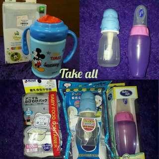 Botol sendok / weaning bottle / puku / baby safe #ImlekHoki