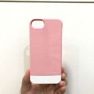 PINK-WHITE IPHONE 5 CASE