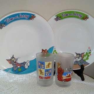 Tom & Jerry( Rm8/plate & Rm10/glass)