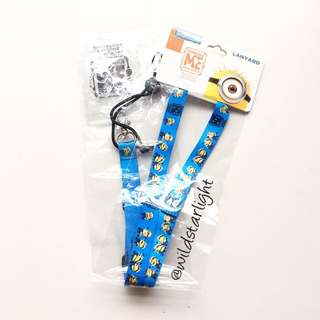 OFFICIAL UNIVERSAL STUDIOS DESPICABLE ME LANYARD