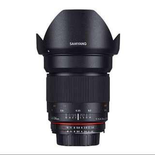 Samyang 24mm F1.4 ED AS UMC (Sony A mount)