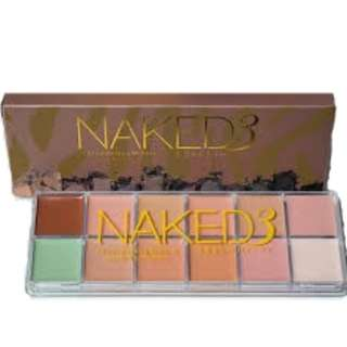 Naked3 12 Longlasting Makeup Cover