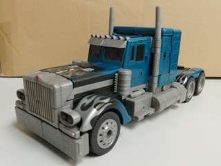 Hasbro Transformers 1st Movie Leader class Optimus Prime (nightwatch) 美版 (别注色)