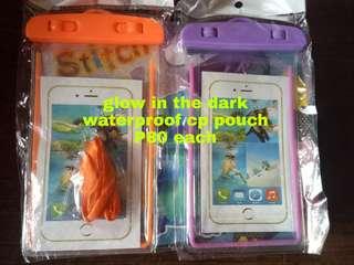 Onhand! Glow in the dark waterproof cp pouch