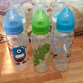 Preloved feeding bottles TAKE ALL