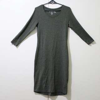 H&M Bodycon Green Dress